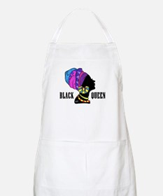 Black African Queen Apron