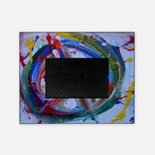 abstract peace Picture Frame