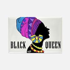 Black African Queen Magnets