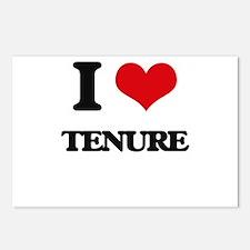 I love Tenure Postcards (Package of 8)