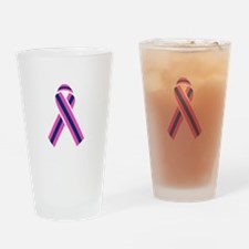 MALE BREAST CANCER Drinking Glass