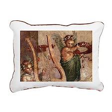 Herculaneum Cupids Rectangular Canvas Pillow