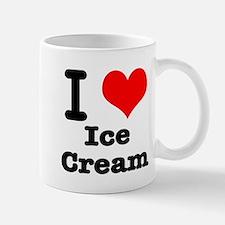 I Heart (Love) Ice Cream Mug
