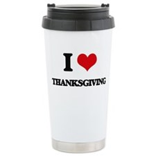 I love Thanksgiving Travel Mug