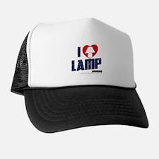 i love lamp Trucker Hat