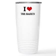 I Love The Basics Travel Mug
