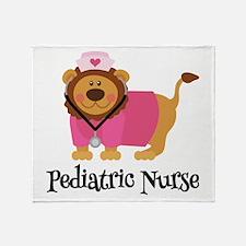 cute er nurse Throw Blanket