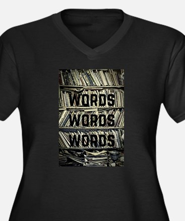 Words Words Words Plus Size T-Shirt