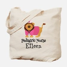 Personalized Pediatric Nurse Tote Bag