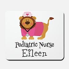Personalized Pediatric Nurse Mousepad