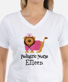 Personalized Pediatric Nurse T-Shirt