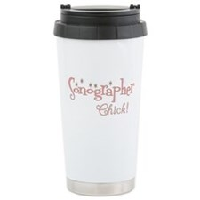 Cute Sonography chick Travel Mug