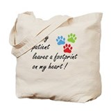 Veterinary Regular Canvas Tote Bag