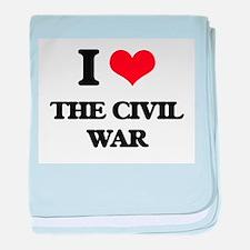 I love The Civil War baby blanket