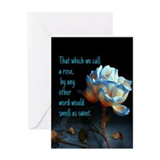 Rose of another name Greeting Cards