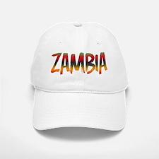 Zambia Baseball Baseball Cap