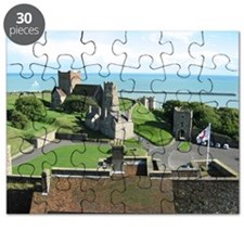 View From the Top of Dover Castle Puzzle