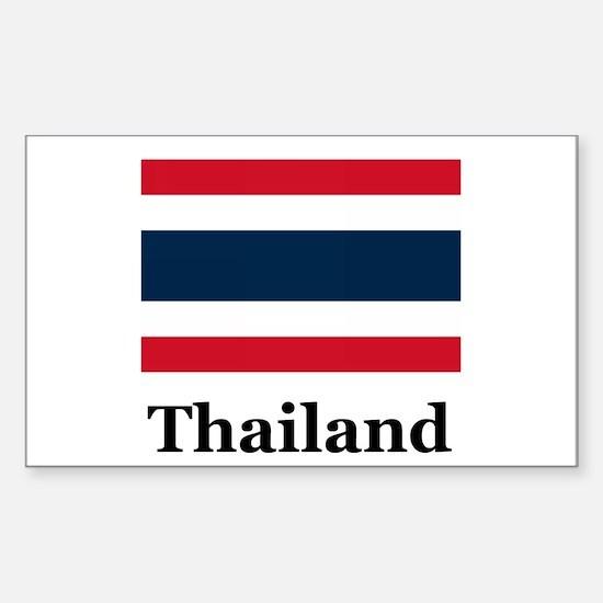 Thai Thailand Rectangle Decal