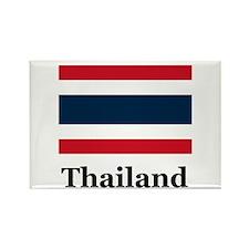 Thai Thailand Rectangle Magnet