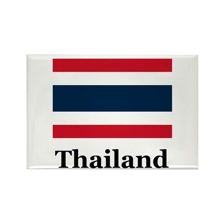 Thai Thailand Rectangle Magnet (10 pack)
