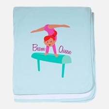 Beam Queen baby blanket