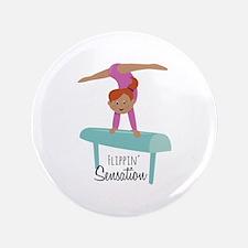 "Flippin Sensation 3.5"" Button"