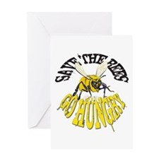 SAVE THE BEES Greeting Cards