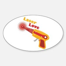 Laser Love Decal