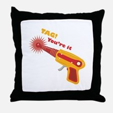 Tag! You're It Throw Pillow