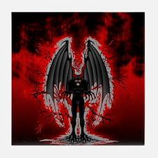 Evil Demon Spirit Tile Coaster