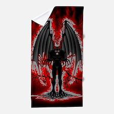 Evil Demon Spirit Beach Towel