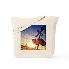 Cute Ski Tote Bag