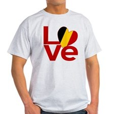 Red Belgian LOVE T-Shirt