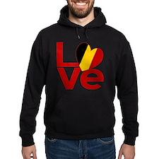 Red Belgian LOVE Hoodie