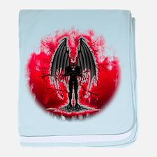 Evil Demon Spirit baby blanket