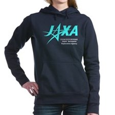 JAXA Logo Women's Hooded Sweatshirt