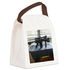 Watching Canvas Lunch Bag