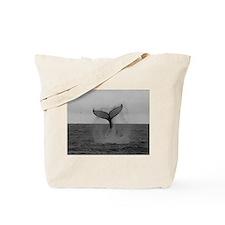 Cute Whale humpback Tote Bag