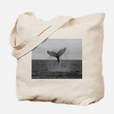 Cute Whale Tote Bag