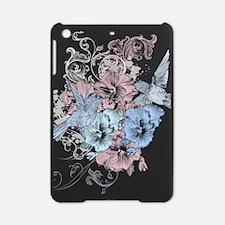 Vintage Floral and Hummingbirds iPad Mini Case
