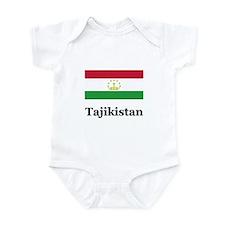 Tajikistan Infant Bodysuit