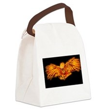 Cute Phoenix Canvas Lunch Bag