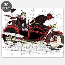 Krampus The Biker Puzzle