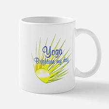 Yoga Brightens Mug