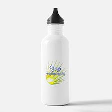 Yoga Brightens Water Bottle