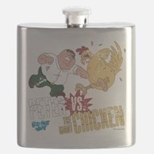 Family Guy Peter vs. The Giant Chicken Flask