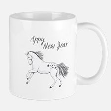Appy New Year Appaloosa Horse Mug