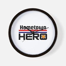 HOMETOWN HERO Wall Clock