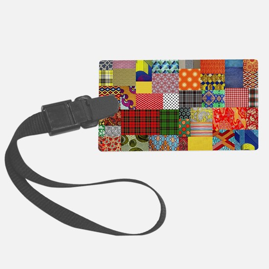 patterns Luggage Tag