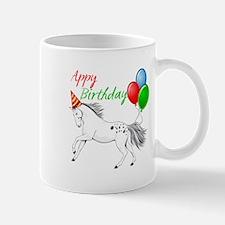 Happy New year Appaloosa Horse Mugs